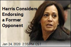 Harris Considers Endorsing a Former Opponent