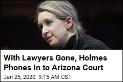Due in Two Courtrooms, ex-CEO of Theranos Calls In to One