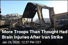 Pentagon: 34 US Troops Had Brain Injuries After Iran Strike