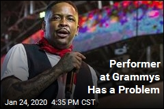 Performer at Grammys Has a Problem