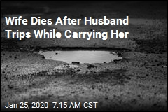 Wife Dies After Husband Trips While Carrying Her