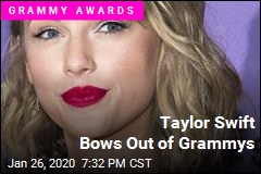 Taylor Swift Bows Out of Grammys