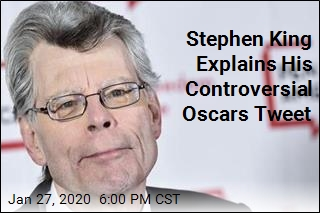 Stephen King Explains His Controversial Oscars Tweet