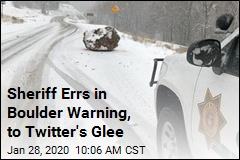 Sheriff Errs in Boulder Warning, to Twitter's Glee