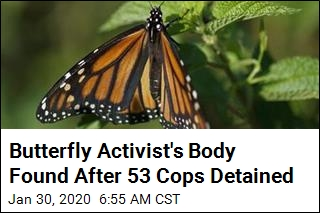 Body of Mexico Butterfly Activist Found in Water Tank