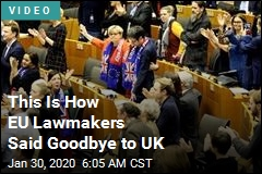 This Is How EU Lawmakers Said Goodbye to UK