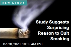 Study Suggests Surprising Reason to Quit Smoking