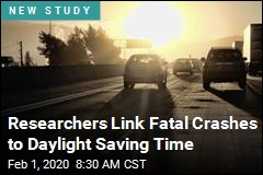 Researchers Link Fatal Crashes to Daylight Saving Time