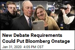 New Debate Requirements Could Put Bloomberg Onstage