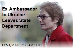 Ex-Ambassador to Ukraine Leaves State Department