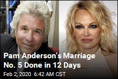 Pam Anderson's 5th Marriage Done After 12 Days