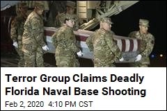Terror Group Claims Deadly Florida Naval Base Shooting