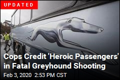 Multiple People Shot Aboard Greyhound Bus
