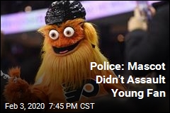 Police: Mascot Didn't Assault Young Fan
