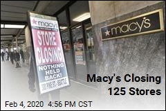 Macy's Closing 125 Stores