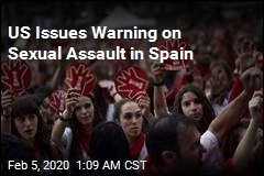 US Issues Warning on Sexual Assault in Spain
