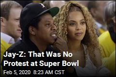 Jay-Z: That Was No Protest at Super Bowl