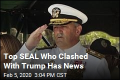 Top SEAL Who Clashed With Trump Is Retiring
