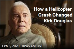 How a Helicopter Crash Changed Kirk Douglas