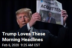 Trump Loves These Morning Headlines