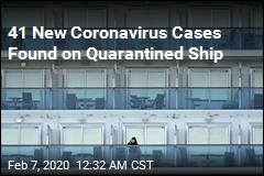 41 More Coronavirus Cases Detected on Cruise Ship