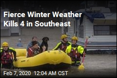 Fierce Winter Weather Kills 4 in Southeast