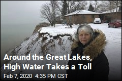 High Water Taking a Toll Around the Great Lakes