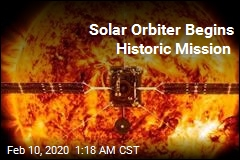 Solar Orbiter Begins Historic Mission