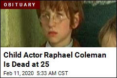 Child Actor Raphael Coleman Is Dead at 25