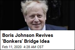 Johnson Revives Idea of Bridge to N. Ireland
