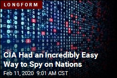 CIA Had an Incredibly Easy Way to Spy on Nations