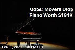 Oops: Movers Accidentally Drop Piano Worth $194K
