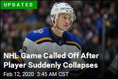 NHL Game Postponed After Player Collapses
