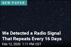 We Detected a Radio Signal That Repeats Every 16 Days