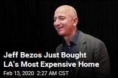 Jeff Bezos Plunks Down $165M for a House