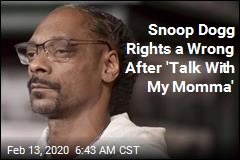 Snoop Dogg Rights a Wrong After 'Talk With My Momma'