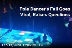 Pole Dancer's Fall Goes Viral, Raises Questions