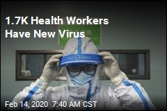 1.7K Health Workers Have New Virus