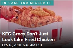 Fried Chicken-Scented Crocs Are Now a Thing