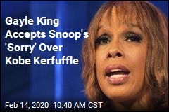 Gayle King to Snoop Dogg: Apology Accepted