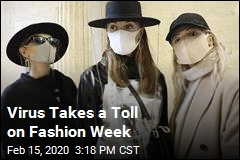 Virus Takes a Toll on Fashion Week