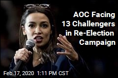 AOC Facing 13 Challengers in Re-Election Campaign