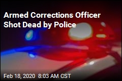 Armed Corrections Officer Shot Dead by Police