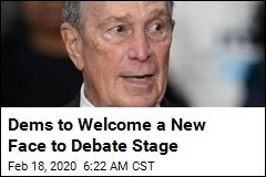 Dems to Welcome a New Face to Debate Stage