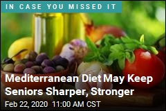 Mediterranean Diet May Help You Age Better