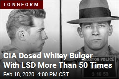 CIA Dosed Whitey Bulger With LSD More Than 50 Times