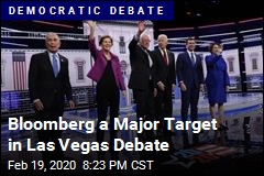 Bloomberg a Major Target in Las Vegas Debate