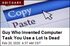 Guy Who Invented Copy-Paste Is Dead