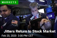 Jitters Return to Stock Market