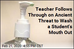 Teacher Suspended After Washing Student's Mouth Out With Sanitizer